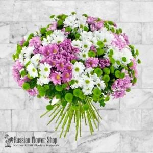 Kazakhstan bouquet de fleurs #3