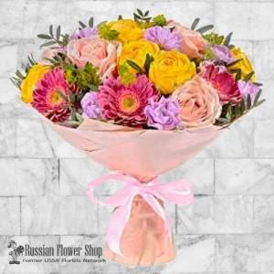Kazakhstan bouquet de fleurs #6