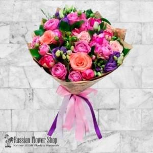 Kazakhstan bouquet de fleurs #10