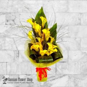Kazakhstan bouquet de fleurs #12