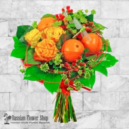 Kazakhstan Fruit Bouquet #3