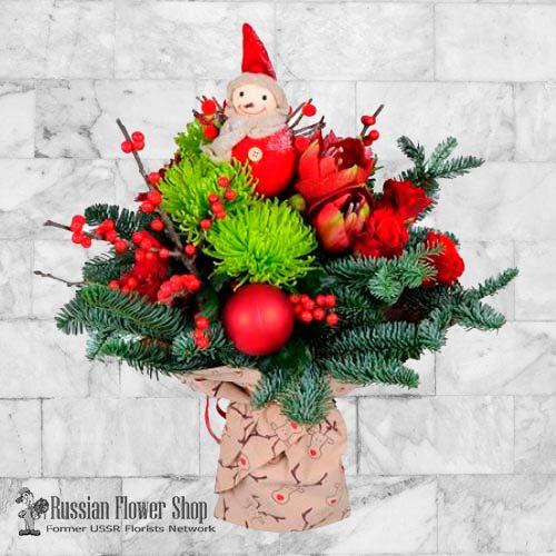 Bouquet de Noël Kazakhstan # 1