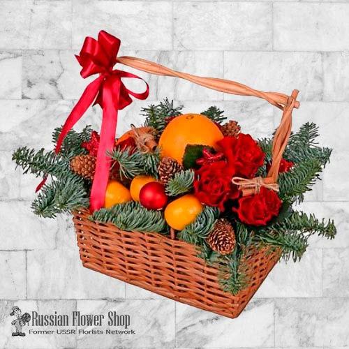 Kasachstan-Weihnachtsgeschenkkorb #3