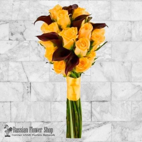 Bouquet de roses du Kazakhstan #15