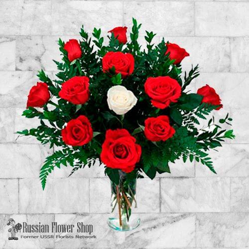 Kazakhstan Roses Bouquet #12