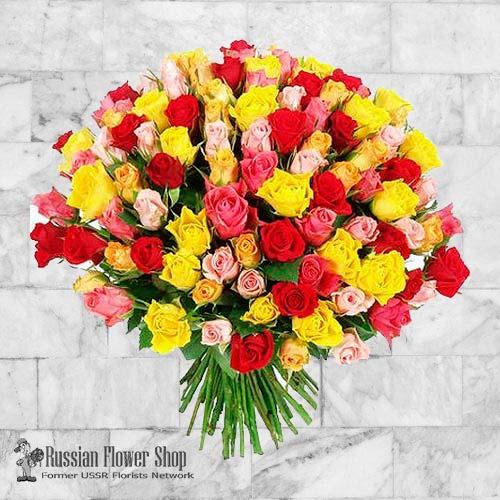 Kazakhstan Roses Bouquet #20