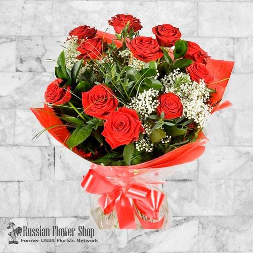 Kazakhstan Roses Bouquet #28