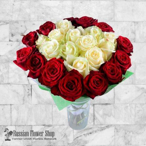 Kazakhstan Roses Bouquet #34